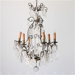 Eloquence French Country Style Antique Chandelier