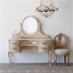 Eloquence French Country Style Antique Vanity