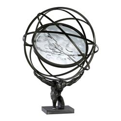 Atlas Holding Up the Weight of the World Sculpture