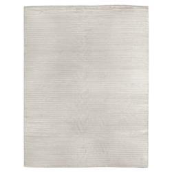 Exquisite Rugs High Low Modern Classic Channel Pattern Platinum Rug - 4' x 6'