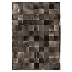 Exquisite Rugs Natural Hide Modern Classic Square Pattern
