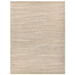 Exquisite Rugs Palazzo Modern Classic Striated Pattern Heathered Beige Rug - 6' x 9'