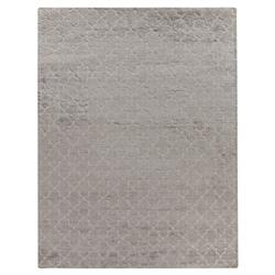 Exquisite Rugs Luxe Look Modern Classic Moroccan Pattern Grey Sand Rug - 6' x 9'