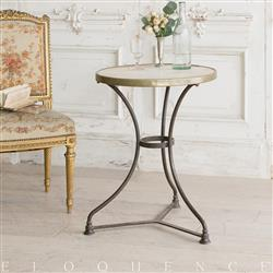 Eloquence French Country Style Antique Cafe Table: 1900