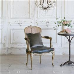 Eloquence French Country Style Vintage Armchair: 1940