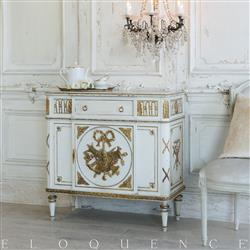 Eloquence French Country Style Vintage Cabinet: 1920