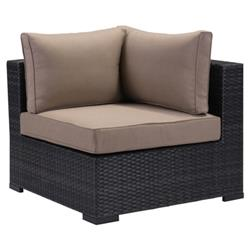 Bernard Modern Classic Weaved Performance Fabric Outdoor Sectional Corner