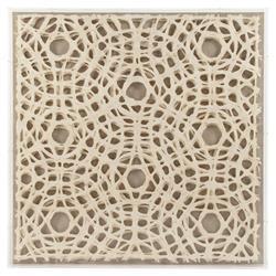 Gabi Modern Classic Abstract Geometric Acrylic Framed Paper Wall Art - Circles