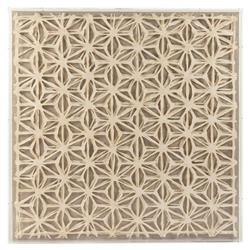 Gabi Modern Classic Abstract Geometric Acrylic Framed Paper Wall Art - Stars