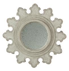 Laura Star Burst French Country Speckled Antique Mirror