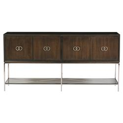 Michael Weiss Kingsley Modern Classic Walnut Solid 4 Door Sideboard