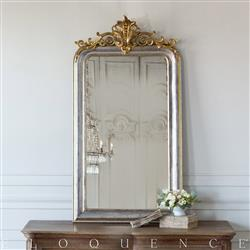 Eloquence French Country Style Antique Mirror: 1890