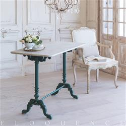 Eloquence French Country Style Antique Bistro Table: 1900