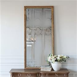 Eloquence French Country Style Antique Mirror: 1800