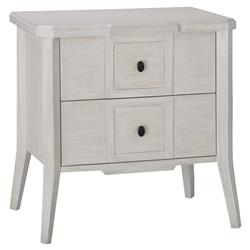 Ilene Modern Classic Grey 2 Drawer Wood Nightstand