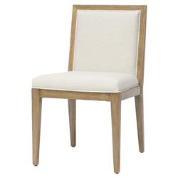 Palecek Santa Barbara Modern Classic Lampakanai Outdoor Dining Side Chair
