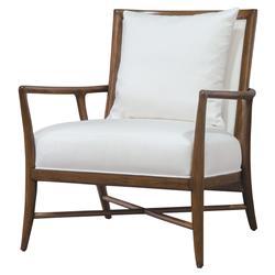 Superb Palecek Davenport Coastal Beach Wood Frame Rattan Back Inzonedesignstudio Interior Chair Design Inzonedesignstudiocom