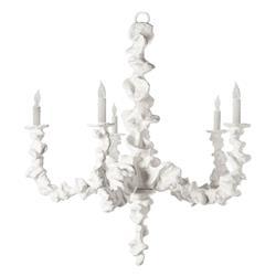 Oly Studio Klemm Global Bazaar White Resin Chandelier