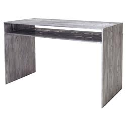 Oly Studio Tuck Modern Classic Grey Metal Single Shelf Console Table