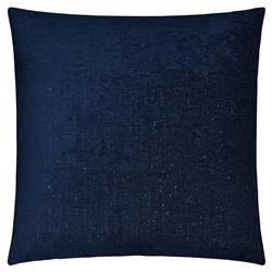 Sarah Modern Classic Square Midnight Feather Down Pillow - 20 x 20
