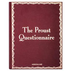The Proust Questionnaire Assouline Hardcover Book