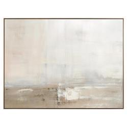 John-Richard Modern Classic Dune Driftwood Framed Canvas by Carol Benson-Cobb