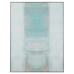 John Richard Modern Classic Bliss Floater Framed Canvas by Carol Benson-Cobb