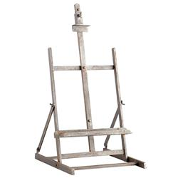 Lara Industrial Loft Grey Iron Easel Stand