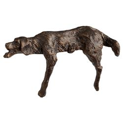 Asta Industrial Loft Bronze Metal Decorative Dog Sculpture