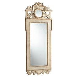 Vivienne French Country Antique Gold Wood Mirror