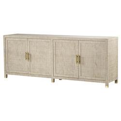 Maison 55 Raffles Modern Classic Wood 4 Door Buffet Sideboard