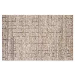 Resource Decor Abohar Modern Classic Brown Wool Rug - 5' x 8'