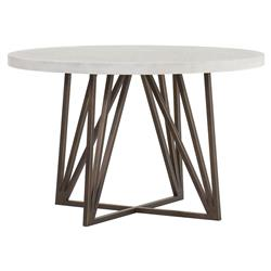 Maison 55 Emerson Modern Classic Concrete Top Metal Dining Table Small