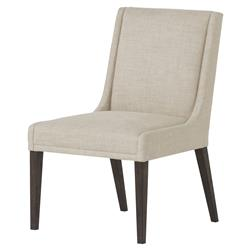 Maison 55 Stacey Modern Classic Beige Upholstered Wood Dining Side Chair