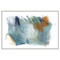 Avery Modern Classic Frame Abstract Framed Canvas Art