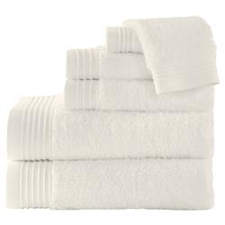 Peacock Alley Modern Bamboo Bath Towel - Ivory Bath