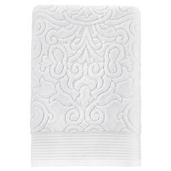 Peacock Alley Modern Park Avenue Bath Towel - White Bath
