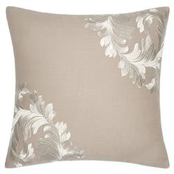 Sferra Modern Teana Decorative Pillow - Ivory Natural
