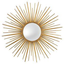Eichholtz Modern Helios Gold Starburst Sun Wall Mirror