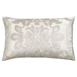 Lili Alessandra Morocco Regency Velvet Pillow - Ivory
