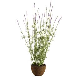 "Paris French Country 40"" Lavander Drop In Faux Floral Plant"