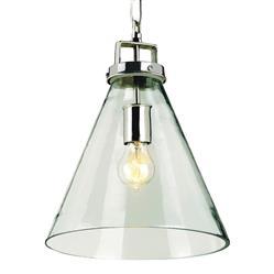 Grantham Glass Beaker Industrial Loft Modern Pendant