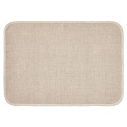 Mode Living Modern Classic Milano Placemats with Metallic Gold Trim - Set of 4