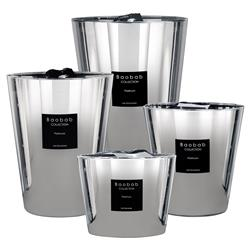 Baobab Collection Modern Les Exclusives Platinum Candle - Extra Small