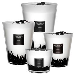 Baobab Collection Modern Feathers Candle - Small