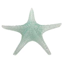 "Delia Coastal Beach 10"" Blue Starfish Figurine - Set of 2"