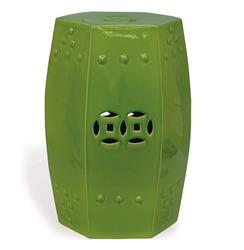 Green Apple Modern Asian Garden Seat Bunching Stool | P68-ACFS-109-03