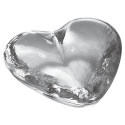 Simon Pearce Modern Classic Highgate Glass Heart - Medium