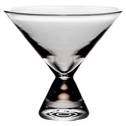 Simon Pearce Modern Classic Westport Stemless Martini Glass