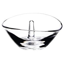 Simon Pearce Modern Classic Champlain Glass Ring Holder